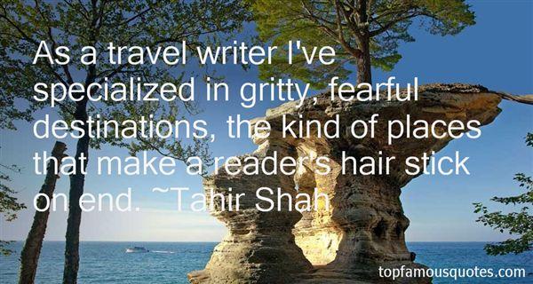 Tahir Shah Quotes