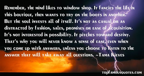 Tama Kieves Quotes