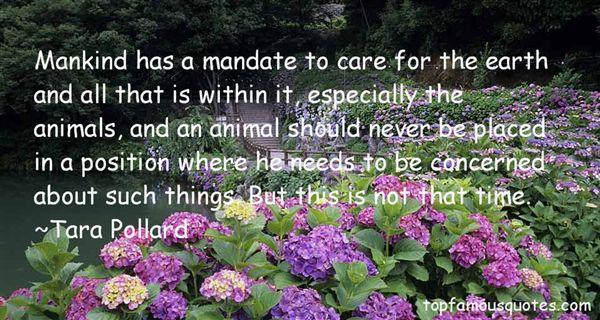 Tara Pollard Quotes