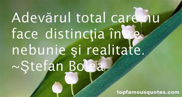 Ştefan Bolea Quotes
