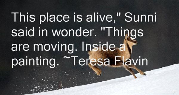 Teresa Flavin Quotes