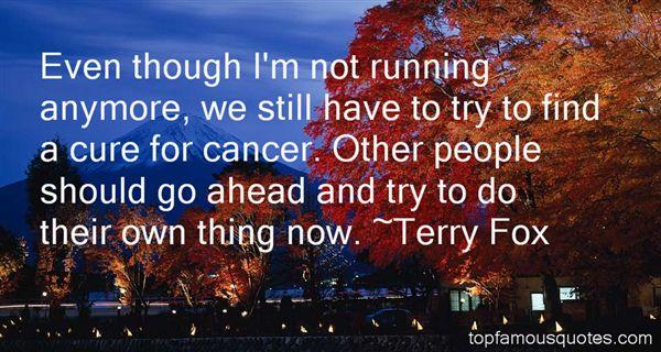 Terry Fox Quotes