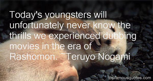 Teruyo Nogami Quotes