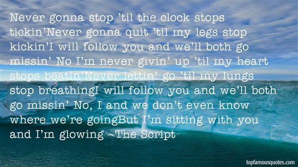 The Script Quotes
