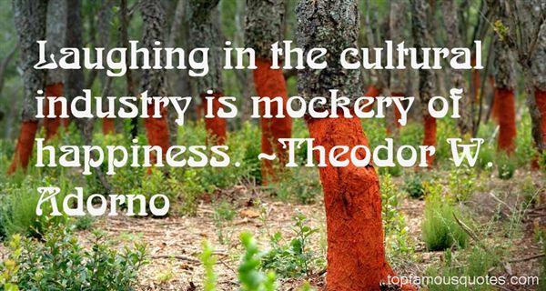 Theodor W. Adorno Quotes