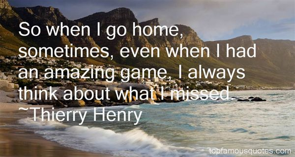 Thierry Henry Quotes