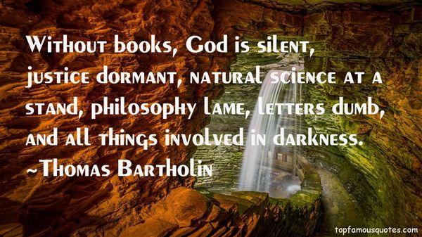 Thomas Bartholin Quotes