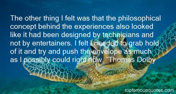 Thomas Dolby Quotes