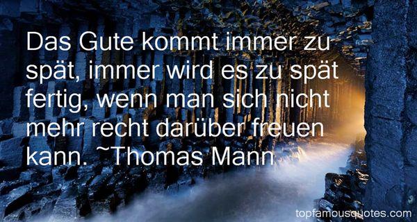 Thomas Mann Quotes
