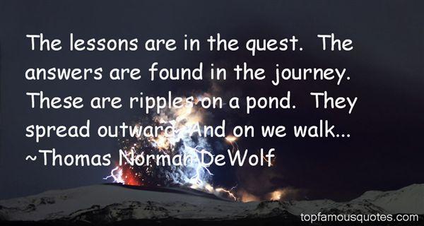 Thomas Norman DeWolf Quotes