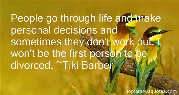 Tiki Barber Quotes