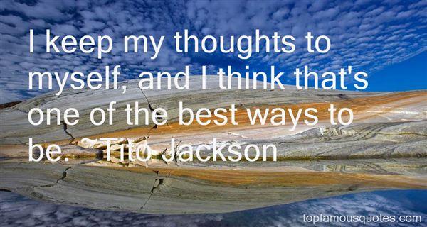 Tito Jackson Quotes
