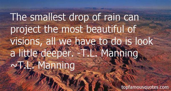 T.L. Manning Quotes