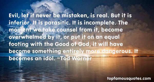 Tod Worner Quotes