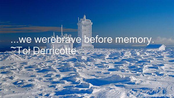 Toi Derricotte Quotes