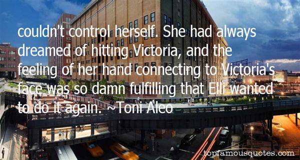Toni Aleo Quotes