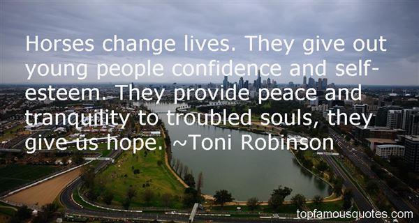 Toni Robinson Quotes
