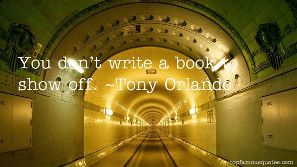 Tony Orlando Quotes