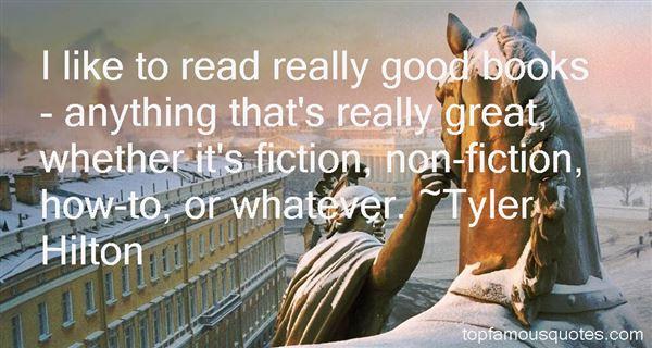 Tyler Hilton Quotes