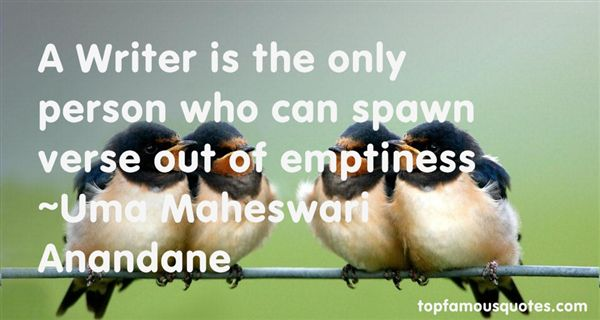 Uma Maheswari Anandane Quotes
