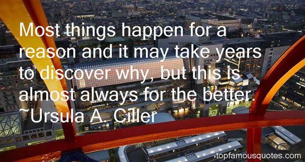 Ursula A. Ciller Quotes