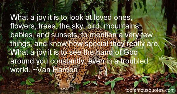 Van Harden Quotes