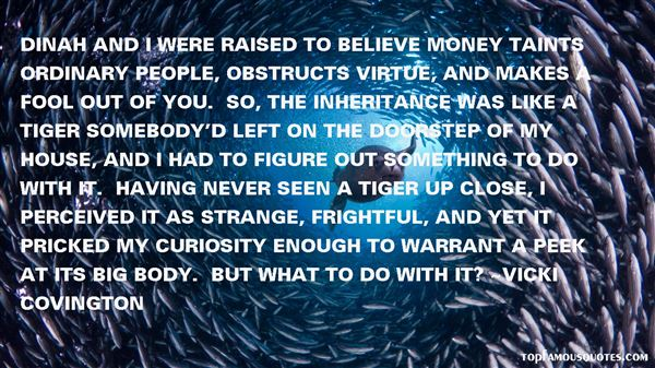 Vicki Covington Quotes