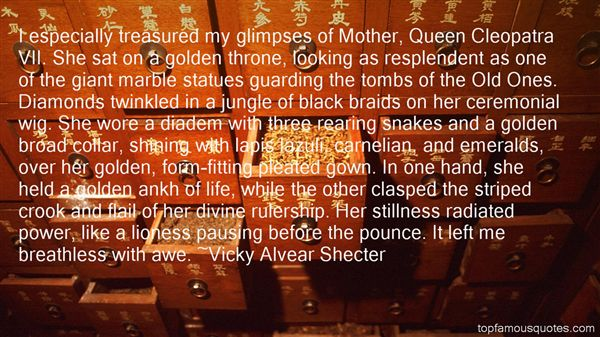 Vicky Alvear Shecter Quotes
