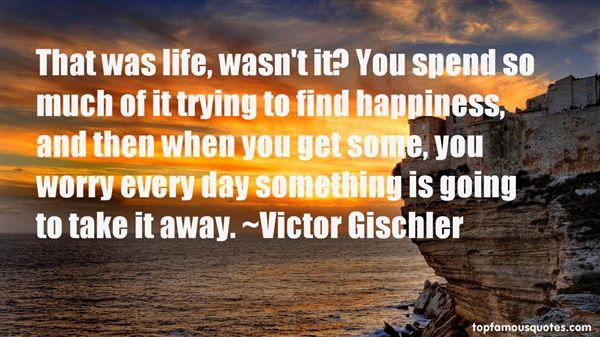 Victor Gischler Quotes