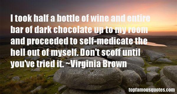 Virginia Brown Quotes
