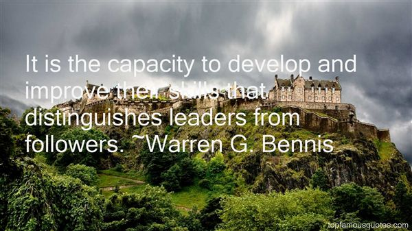 Warren G. Bennis Quotes