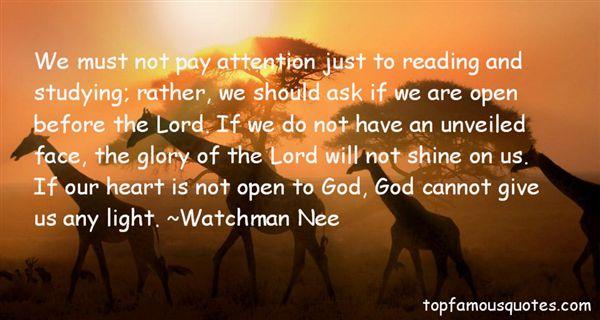 Watchman Nee Quotes