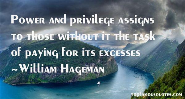 William Hageman Quotes