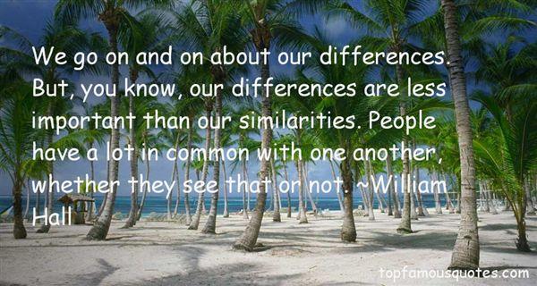William Hall Quotes
