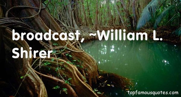 William L. Shirer Quotes