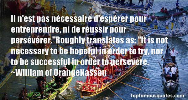 William Of OrangeNassau Quotes
