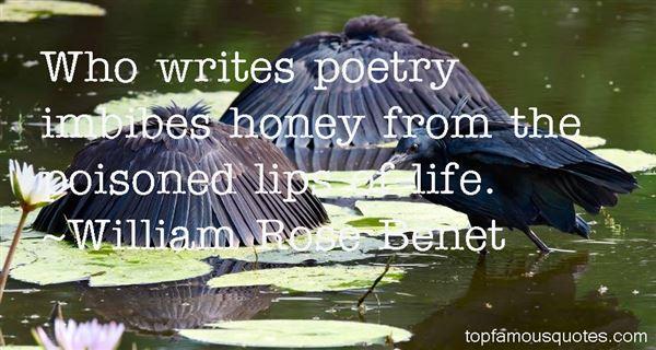 William Rose Benet Quotes
