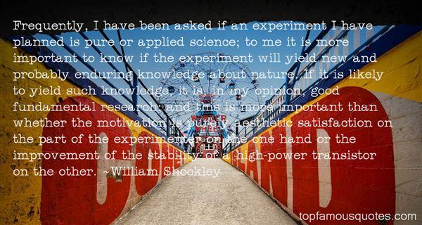 William Shockley Quotes
