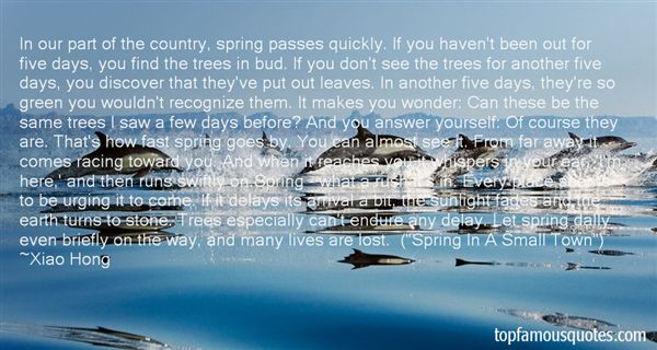 Xiao Hong Quotes