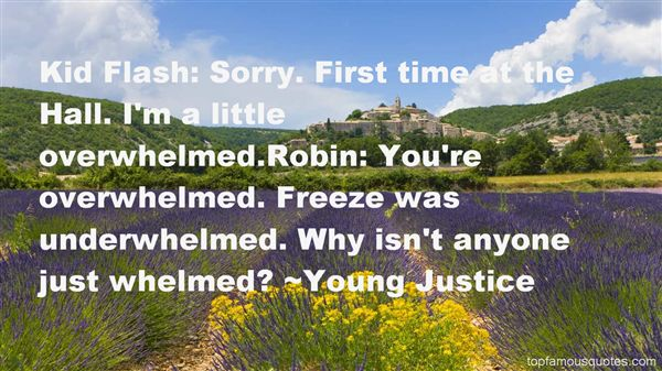 Young Justice Quotes
