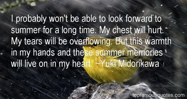 Yuki Midorikawa Quotes