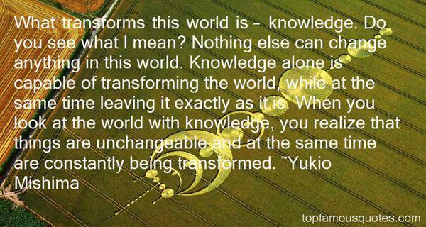 Yukio Mishima Quotes
