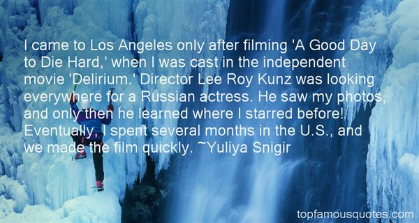 Yuliya Snigir Quotes