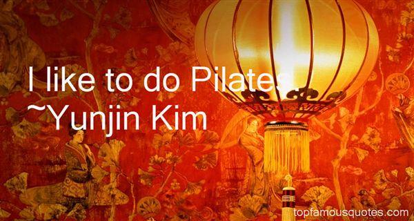 Yunjin Kim Quotes