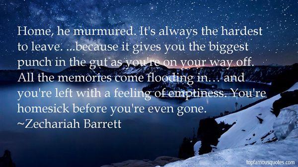Zechariah Barrett Quotes