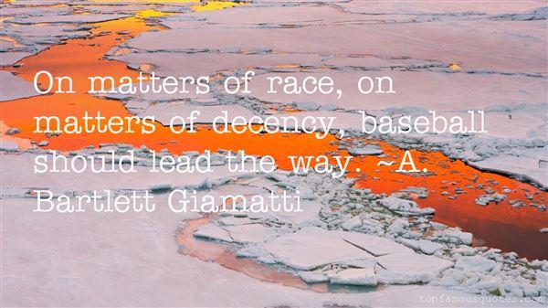A. Bartlett Giamatti Quotes