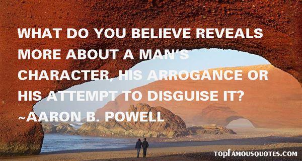 Aaron B. Powell Quotes