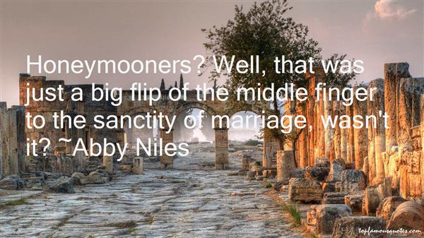 Abby Niles Quotes