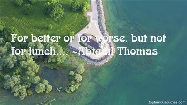Abigail Thomas Quotes