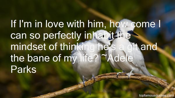 Adele Parks Quotes